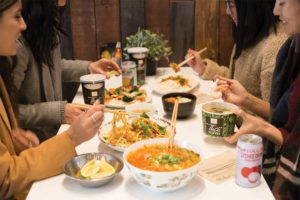 Variety is also key as the menu is not only filled with fan favourites such as Pad See Ew, General Thai, and the now ubiquitous Pad Thai, but also with many options to select a protein of choice and varied degree of spice.