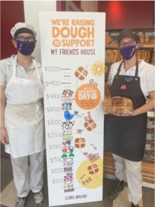COBS Bread is aiming to raise $250,000 for charities across Canada. Each location, including this store in Collingwood, Ont., selected a local charity and raised funds in-bakery.