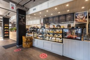 ] Good Earth Coffeehouse is looking to make new opportunities for the brand out of locations abandoned by other chains.