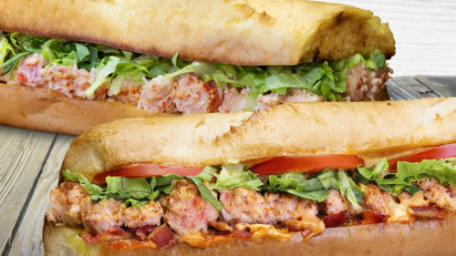 Quiznos is offering the Lobster Classic and Old Bay Lobster Club subs for a limited time across Canada.