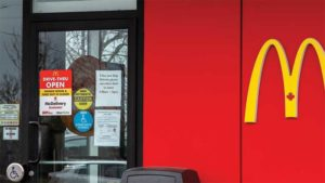 Food-based franchises have adopted options like curbside pickup, transitioning to online-orders only, or implementing protective equipment, and keeping employees and customers socially distanced.