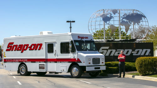 Snap-on Tools franchises are seen almost everywhere in their communities driving their 'showrooms on wheels.'