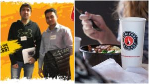 Ankit Patel and Kunal Thakur are the owners of the first Teriyaki Madness location in Canada, which opened in Lethbridge, Atla., earlier this summer.