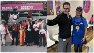The Sharma family has been involved with Baskin-Robbins since 1990 when Sunny opened his first location in Oakville, Ont. His daughter Sheena (at left) is now a franchisee as well.